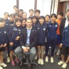 """Had presentation at Tsukuba Univ. Title was """"The World in Japan"""". We discussed how we able to open up to the world for Tokyo 2020! See their smiling face? They all ready to welcome the world."""