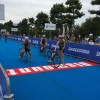 Went Japanese triathlon championships in Odaiba!