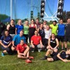 Throws conference in New Zealand. Practical session has been just finished. Good to see everyone improved!