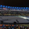 Waiting for closing ceremony to start. Sad that it is over, but also closing means beginning  of something …….!!!!!!!
